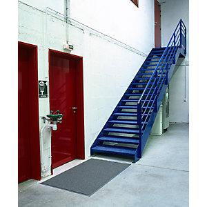 Doortex Tapis d'extérieur grattoir Twister Universel, 150 x 90 cm - Gris