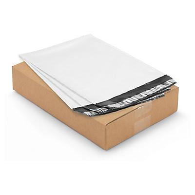 Doos met 100 ondoorzichtige plastic enveloppen, 80 micron