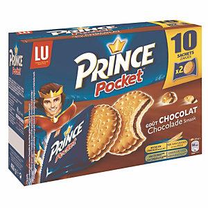 Doos van 10 zakjes van 2 koekjes Prince Pocket