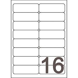 Doos van 1600 witte inkjet etiketten J8162 formaat 99.1 x 33.9 mm Avery