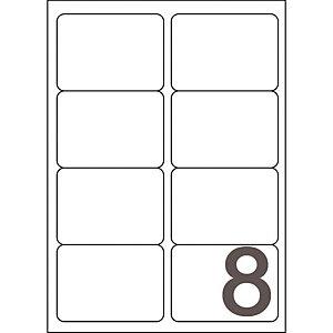 Doos van 320 witte inkjet etiketten J8165 formaat 99.1 x 67.7 mm Avery