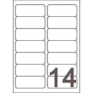 Doos van 560 witte inkjet etiketten J8163 formaat 99,1 x 38,1mm Avery