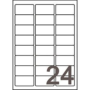 Doos van 960 witte inkjet etiketten J8159 formaat 63,5 x 33,9 mm Avery