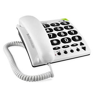 Doro PhoneEasy 311c, Téléphone analogique, Blanc 56710