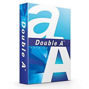 DOUBLE A Papier Multi-Usage pour Jet d'encre et Laser A4, 80 g/m², 500 feuilles - Blanc (Lot de 5)