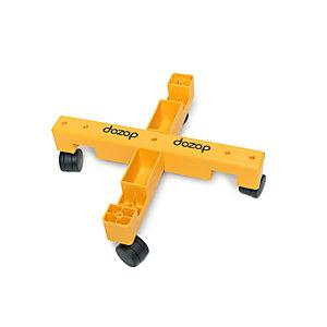 dozop® Instant Dolly Carrello modulare per trasporto, 505 x 505 x 138 mm