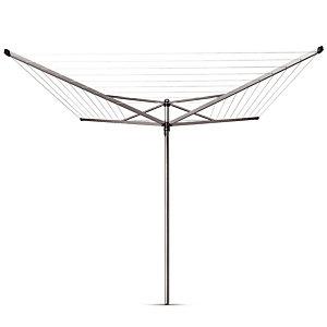 Droogmolen Topspinner Brabantia 4 armen 50 m met metalen grondanker