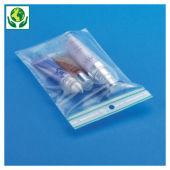 Druckverschlussbeutel 60 µ, 50% recycelt