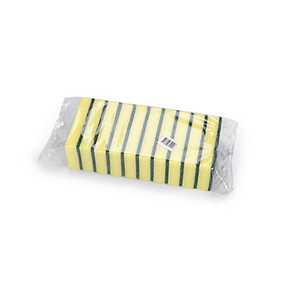 Dual Sided Sponge Scourers – Pack of 10