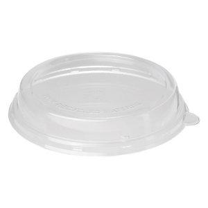 Duni ecoecho® Coperchio monouso in rPET per ciotola capacità 800, 900, 1000, 1200 ml, 20,1 x 20,1 x 2,7 cm, Riciclabile, Trasparente (confezione 40 pezzi)