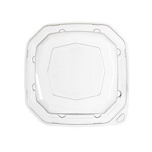 Duni ecoecho® Coperchio monouso per scatola Octabagasse capacità 400 ml, rPET, Trasparente (confezione 300 pezzi)