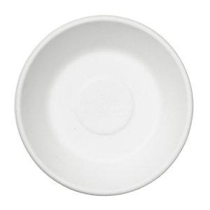 Duni ecoecho® Piatto fondo monouso in bagassa bio e compostabile, Capacità 300 ml, Ø 16 cm, Bianco (confezione 500 pezzi)