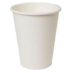 Duni ecoecho® Tazza monouso in carta/PLA compostabile, Capacità 240 ml, Bianca (confezione 800 pezzi)