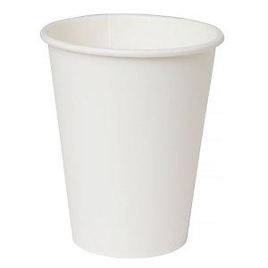 Duni ecoecho® Tazza monouso in carta/PLA compostabile, Capacità 350 ml, Bianca (confezione 800 pezzi)