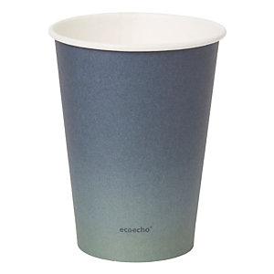 Duni ecoecho® Tazza monouso Urban in carta/PLA, Capacità 350 ml, Decorata (confezione 800 pezzi)