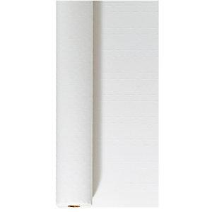 Duni Nappe papier coloris blanc - L. 25 m