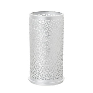 Duni Portacandela in metallo Bliss, 140 x 75 mm, Argento