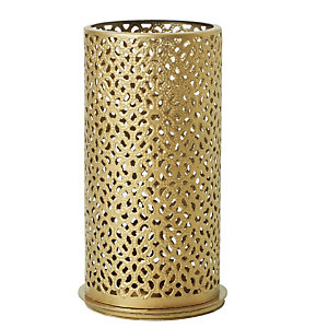 Duni Portacandela in metallo Bliss, 140 x 75 mm, Oro