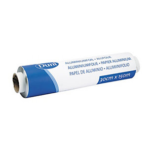 Duni Rouleau de papier alimentaire aluminium, 150 m