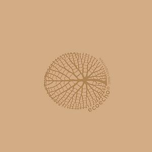 Duni Serviette de table jetable, 3 plis, 33 x 33 cm - Marron