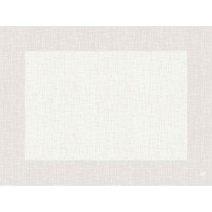 Duni Tovaglietta Dunicel, 30 x 40 cm, Design Linnea, Bianco (confezione 500 pezzi)