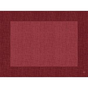Duni Tovaglietta Dunicel, 30 x 40 cm, Design Linnea, Bordeaux (confezione 500 pezzi)