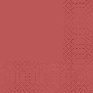 Duni Tovaglioli cellulosa, 2 veli, 40x40 cm, Bordeaux (confezione 125 pezzi)