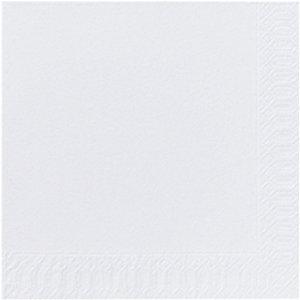 Duni Tovaglioli monouso tinta unita, 2 veli, 33 cm, Bianco (confezione 125 pezzi)