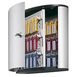 Durable Armoire à clés  Design - 36 clés - Gris aluminium