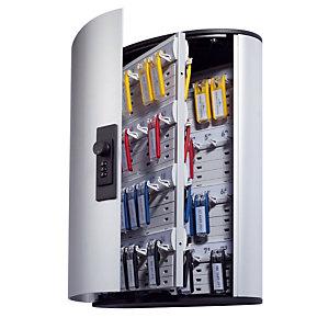Durable Armoire à clés  Design - 72 clés - Gris aluminium