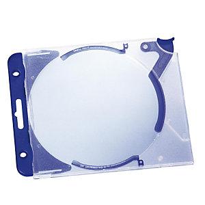 Durable Cajas archivables para CDs/DVDs Quickflip
