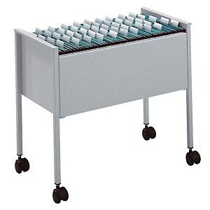 Durable Carrello porta cartelle sospese, 65,5 x 42,5 x 59,2 cm, Grigio