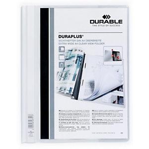 Durable Cartellina ad aghi Duraplus, A4, Bianco (confezione 25 pezzi)