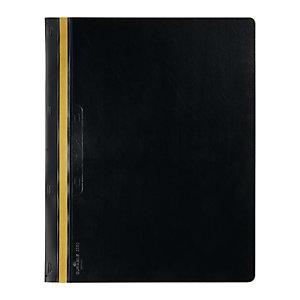 DURABLE Cartellina per rilegatura Durabind - PVC - 21x29,7 cm - nero - Durable
