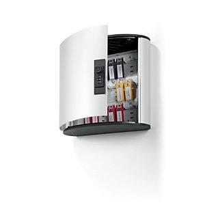 Durable Cassetta Portachiavi con Combinazione Key Box Code 18, 18 posti, Alluminio, Argento