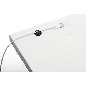 Durable CAVOLINE® CLIP 1 Clip fermacavi adesiva per 1 cavo, Grafite (confezione 6 pezzi)
