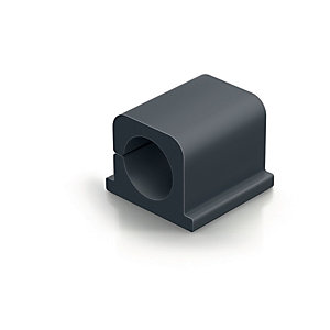 Durable CAVOLINE® CLIP PRO 2 Clip autoadhesivo organizador de cable, grafito