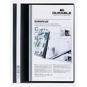 DURABLE Chemise à lamelles Duraplus® en PVC, capacité 100 feuilles A4 - Assortis (paquet 50 unités)