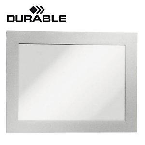 Durable Cornice adesiva Duraframe®, Formato A3, Argento (confezione 2 pezzi)