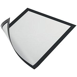 Durable Duraframe® Cornice portadocumenti magnetica, Formato A4, Nero (confezione 5 pezzi)