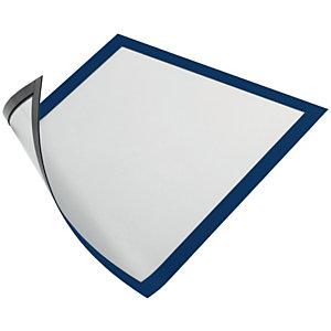 Durable Duraframe Pochette murale Cadre d'affichage magnétique A4 - Cadre bleu