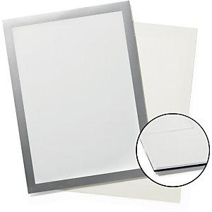 Durable DURAFRAME® Sun, Cornice espositiva magnetica bifacciale, A4, Nero