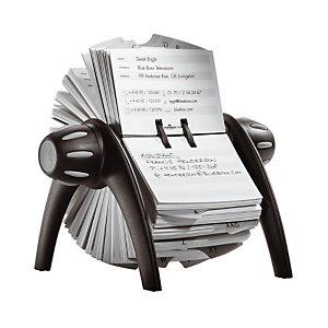 Durable Fichiers Telindex Flip rotatif pour fiches contact