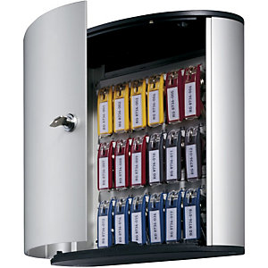 Durable Key Box Bacheca portachiavi, 18 posti, Argento