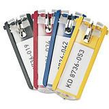 Durable Llaveros, clasificación e identificación, plástico, colores variados