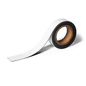 Durable Nastro magnetico scrivibile, 40 mm x 5 m, Bianco