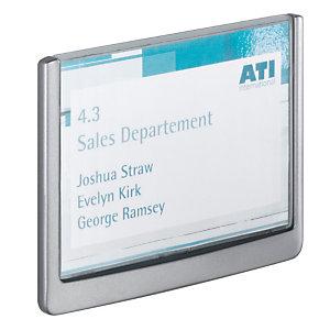 Durable Plaque de porte Click Sign 149x105,5 mm gris