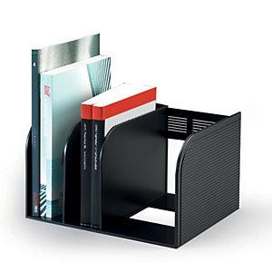 Durable Porta cataloghi Optimo, Nero, cm 30 x 25 x 18 h