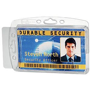 Durable Porte-cartes, 54 x 85mm, transparent