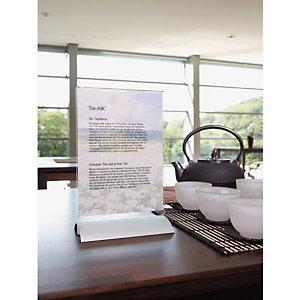 Durable Présentoir de table Design  - Double face - A4